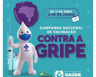 Campanha Nacional de Vacinação Contra a Gripe.