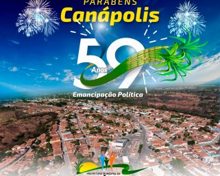 19 de Julho – Aniversário de Canápolis.