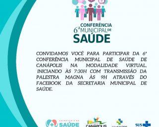 6º Conferência Municipal de Saúde.