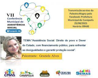 VII Conferência Municipal de Assistência Social.