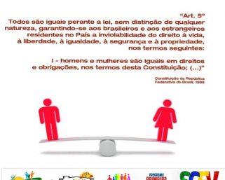 26 de Agosto Dia Internacional da Igualdade Feminina.