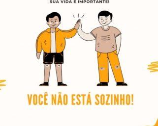 Setembro Amarelo – Mês de Prevenção ao Suicídio.